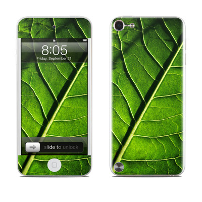 iPod Touch 5G Skin - Green Leaf