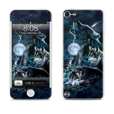 iPod Touch 5G Skin - Howling
