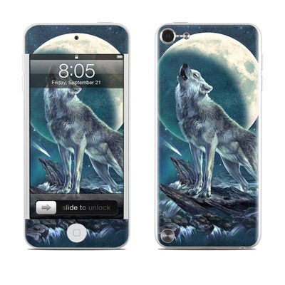 iPod Touch 5G Skin - Howling Moon Soloist