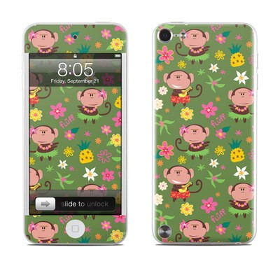iPod Touch 5G Skin - Hula Monkeys