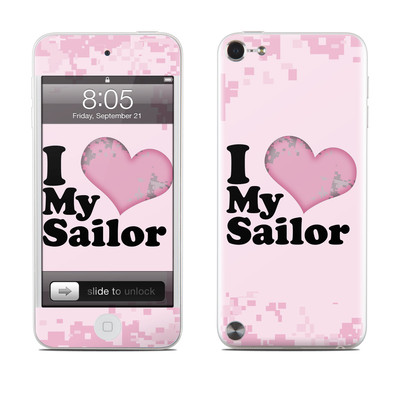 iPod Touch 5G Skin - I Love My Sailor
