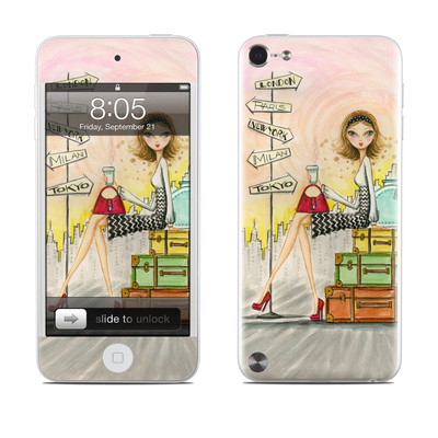 iPod Touch 5G Skin - The Jet Setter