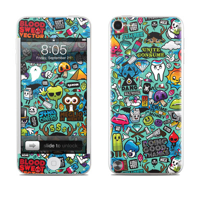 iPod Touch 5G Skin - Jewel Thief
