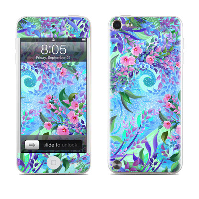 iPod Touch 5G Skin - Lavender Flowers