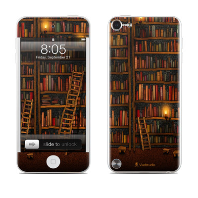 iPod Touch 5G Skin - Library