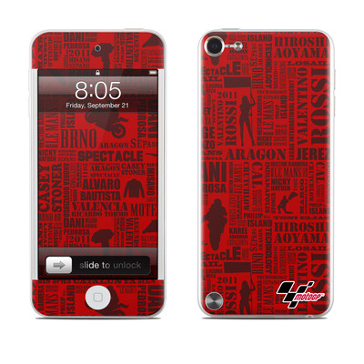 iPod Touch 5G Skin - Life of MotoGP