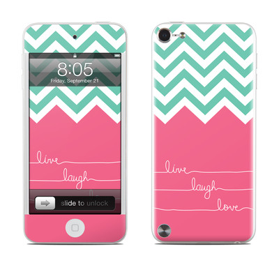 iPod Touch 5G Skin - Live Laugh Love