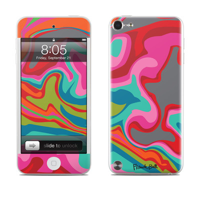 iPod Touch 5G Skin - Marble Bright