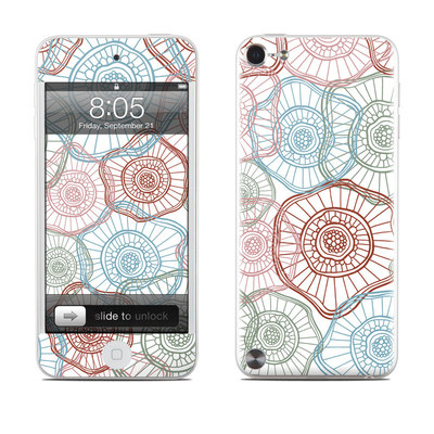 iPod Touch 5G Skin - Micro Flowers