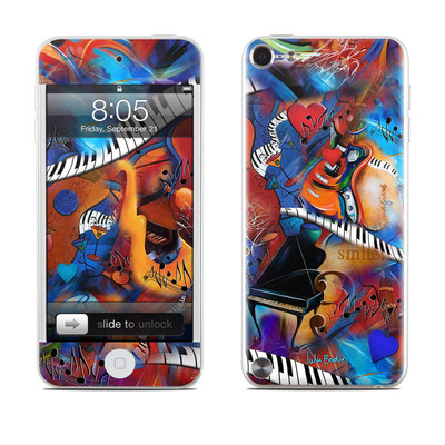 iPod Touch 5G Skin - Music Madness
