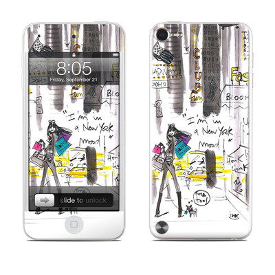 iPod Touch 5G Skin - My New York Mood