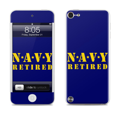 iPod Touch 5G Skin - Navy Retired