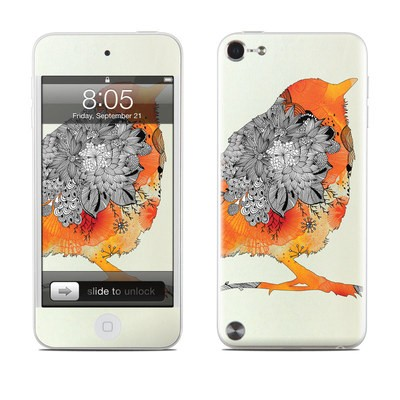 iPod Touch 5G Skin - Orange Bird