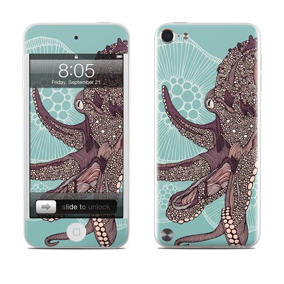 iPod Touch 5G Skin - Octopus Bloom