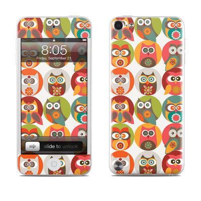 iPod Touch 5G Skin - Owls Family