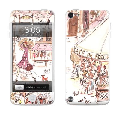 iPod Touch 5G Skin - Paris Makes Me Happy