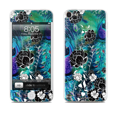 iPod Touch 5G Skin - Peacock Garden