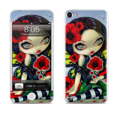 iPod Touch 5G Skin - Poppy Magic