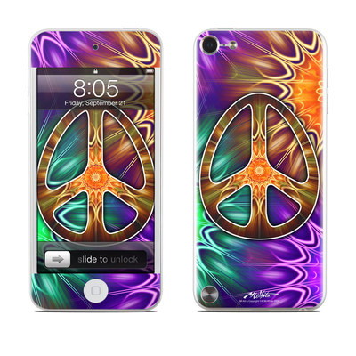 iPod Touch 5G Skin - Peace Triptik