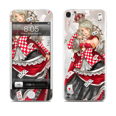 iPod Touch 5G Skin - Queen Of Cards