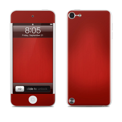 iPod Touch 5G Skin - Red Burst
