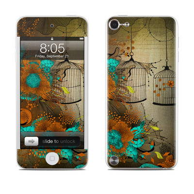 iPod Touch 5G Skin - Rusty Lace