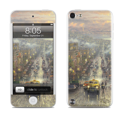 iPod Touch 5G Skin - Heart of San Francisco