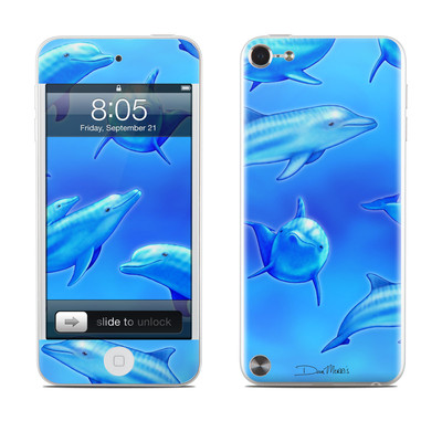 iPod Touch 5G Skin - Swimming Dolphins