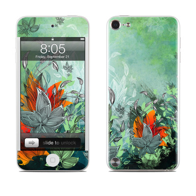 iPod Touch 5G Skin - Sea Flora
