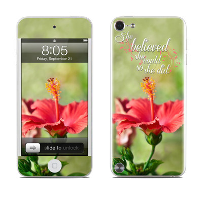 iPod Touch 5G Skin - She Believed