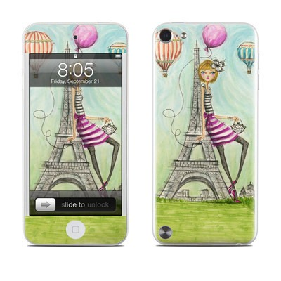 iPod Touch 5G Skin - The Sights Paris