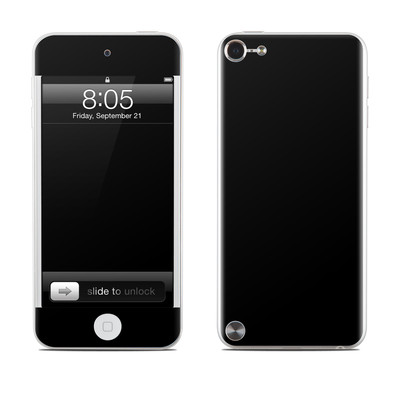 iPod Touch 5G Skin - Solid State Black