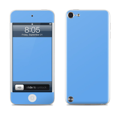 iPod Touch 5G Skin - Solid State Blue