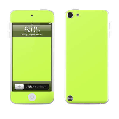 iPod Touch 5G Skin - Solid State Lime