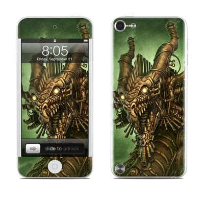 iPod Touch 5G Skin - Steampunk Dragon