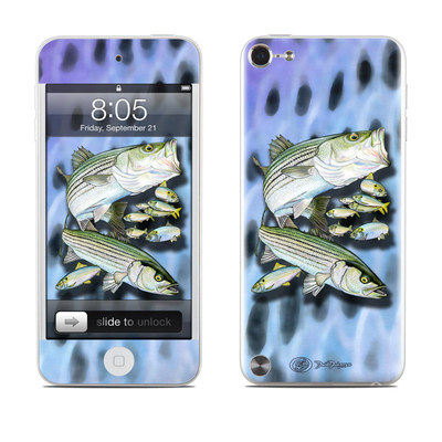 iPod Touch 5G Skin - Striped Bass