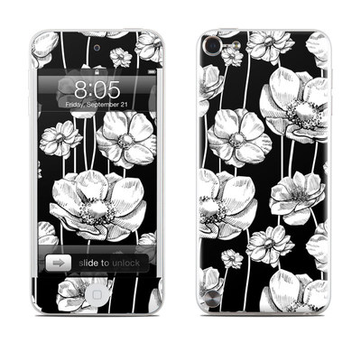 iPod Touch 5G Skin - Striped Blooms