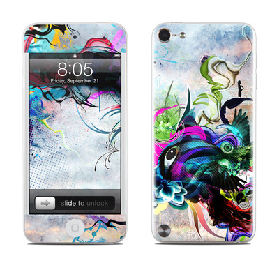iPod Touch 5G Skin - Streaming Eye