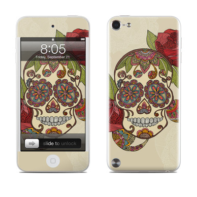 iPod Touch 5G Skin - Sugar Skull