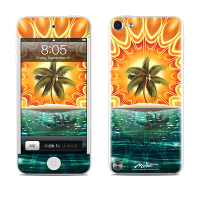 iPod Touch 5G Skin - Sundala Tropic