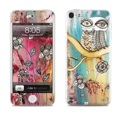 iPod Touch 5G Skin - Surreal Owl