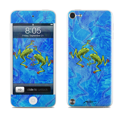 iPod Touch 5G Skin - Tiger Frogs