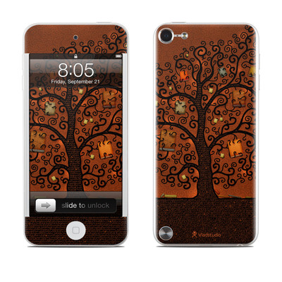 iPod Touch 5G Skin - Tree Of Books