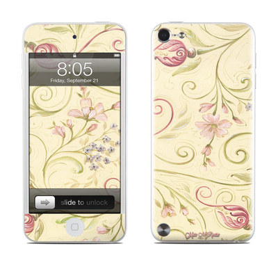 iPod Touch 5G Skin - Tulip Scroll