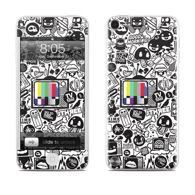 iPod Touch 5G Skin - TV Kills Everything