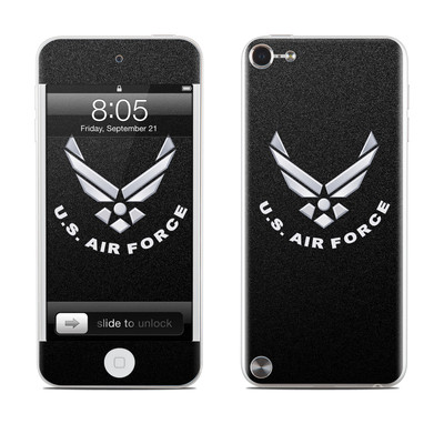iPod Touch 5G Skin - USAF Black