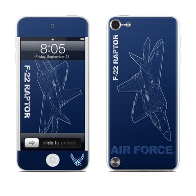 iPod Touch 5G Skin - F-22 Raptor