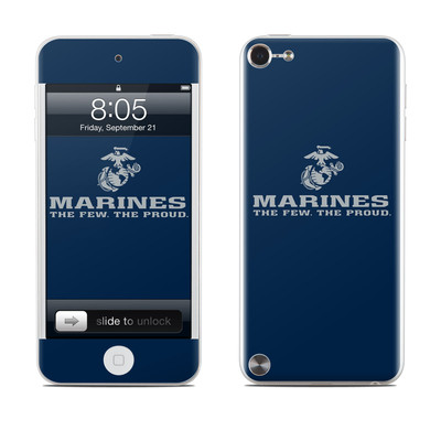 iPod Touch 5G Skin - USMC Blue