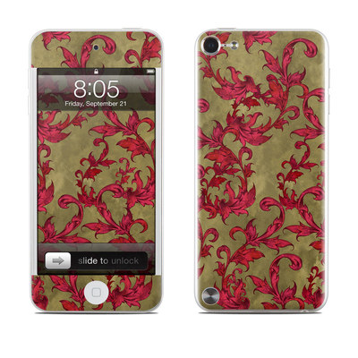 iPod Touch 5G Skin - Vintage Scarlet