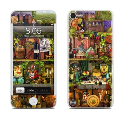 iPod Touch 5G Skin - Wine Shelf